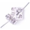 Crystal/ Silver